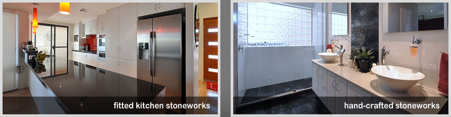 No one supplier of quality fitted kitchen and hand crafted stoneworks